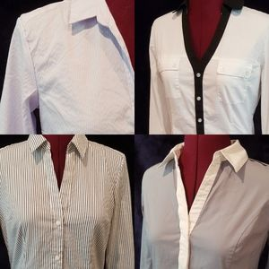 Bundle of 4 button down tops